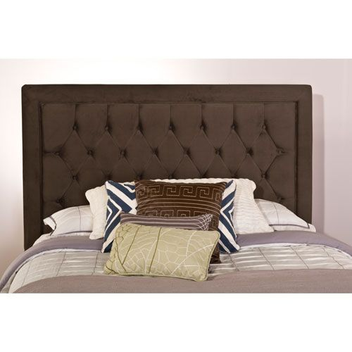 Hillsdale Furniture Kaylie Pewter Headboard King with Rails