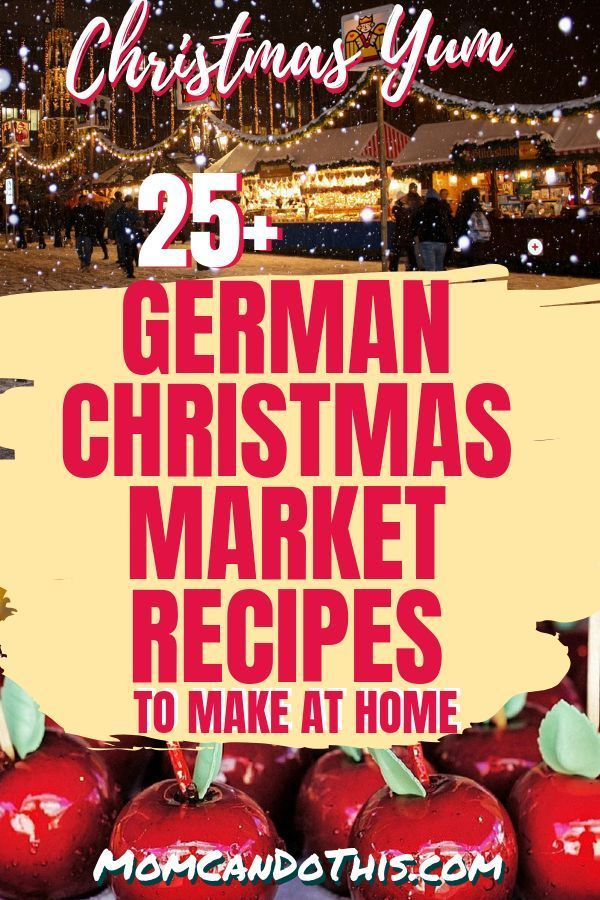 Stroll the German Christmas Market With 25+ Recipes To Try