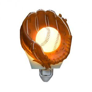 Baseball Night Light
