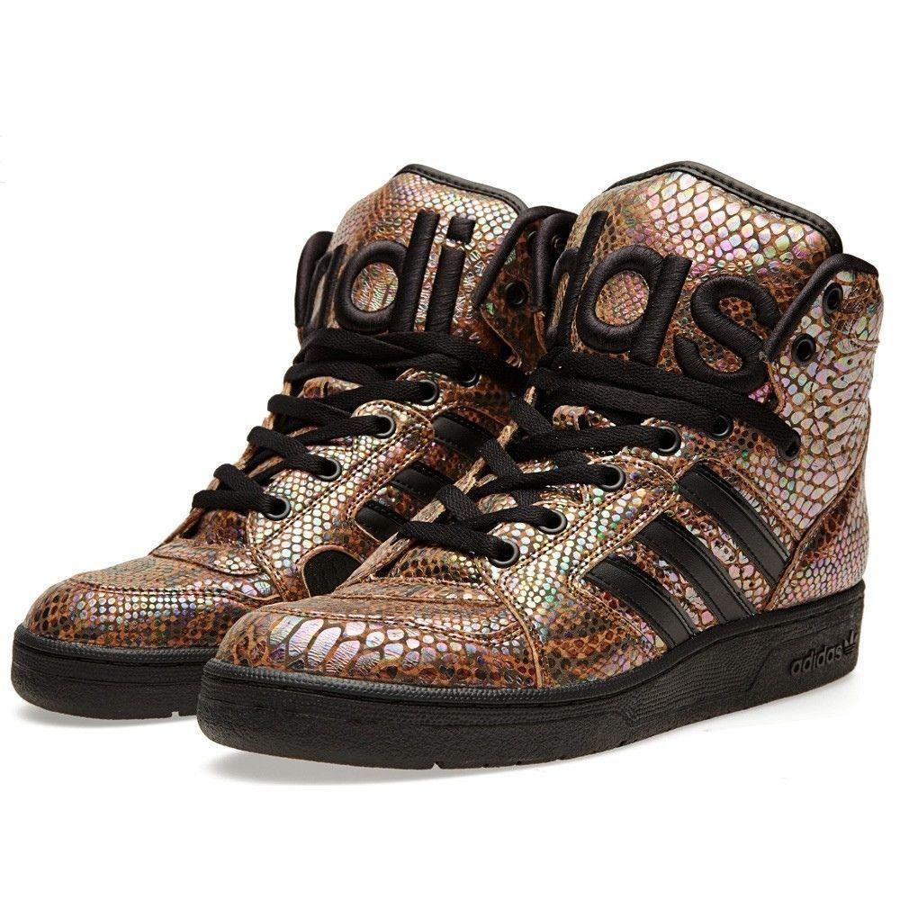 wholesale online great deals size 40 Adidas Jeremy Scott INSTINCT HI RAINBOW Shoes #adidasjeremyscott ...