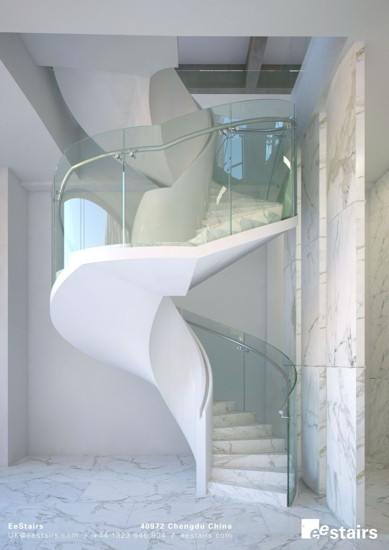 Best Elegant Slim Helical High In 2020 House Spiral 640 x 480