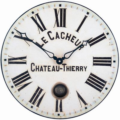 Le Cacheur French Clock French Slogan Pinterest Slogan - clock face template