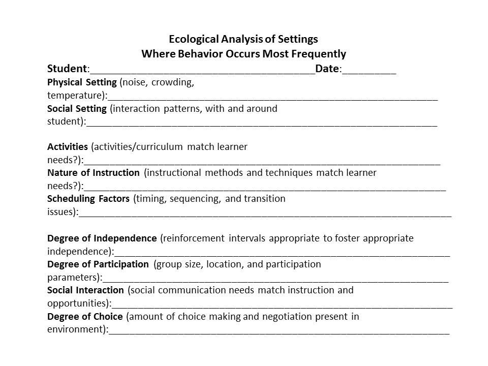 Environmentalecological analysis page 1 of 2