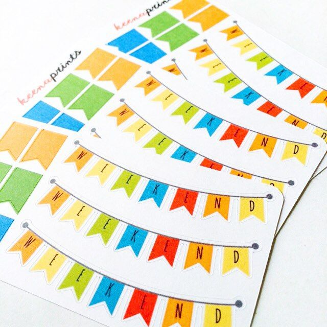 COLORFUL WEEKEND PRECUT PLANNER STICKERS  #KPSTICKERS to view available designs. These stickers are a great way to decorate your planner can also be used to decorate your scrapbook or you can decorate anything else you'd like!  ETSY: keenaprints.etsy.com  VIBE: 09178772813  EMAIL: keenaprints@gmail.com #plannerlove #plannerstickers #planner #organize #planneraddict #stationary #stickers #cute #kawaii #drawing #doodle #sketch #erincondren #kikkik #filofax #plumplanner #diecut #label #midori…