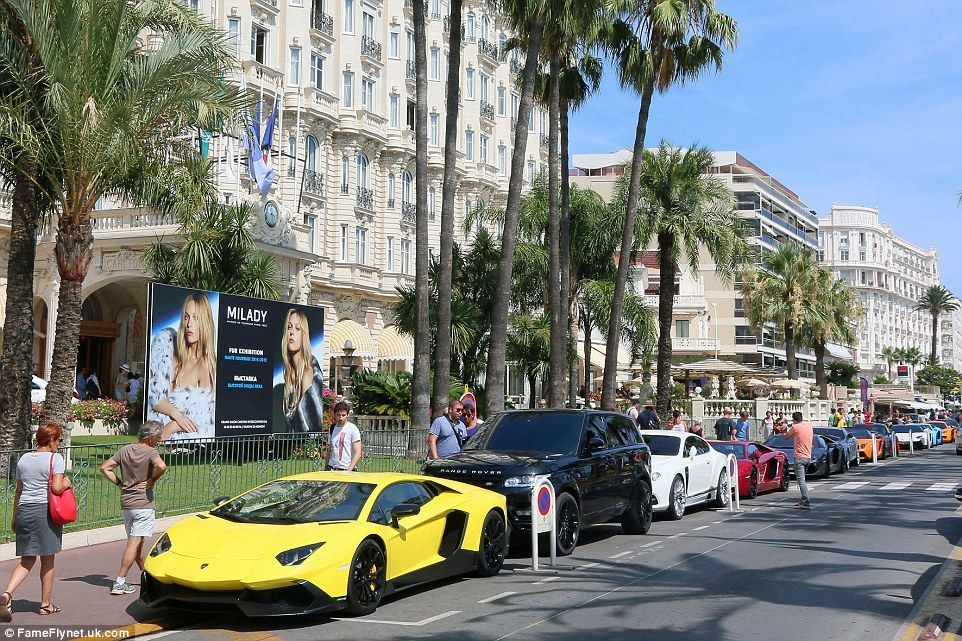 Arab Supercar Tour Continues To Cannes Super Cars French Riviera Cannes