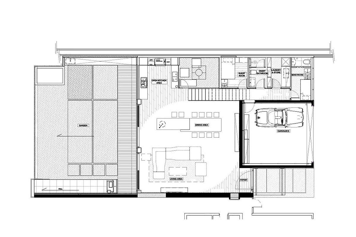 planos de casas de dos pisos amplias