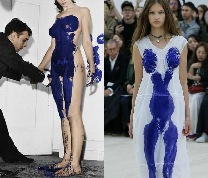 Yves Klein vs Céline   It's trending: 12 examples on how Klein Blue conquers the design world via Eclectic Trends
