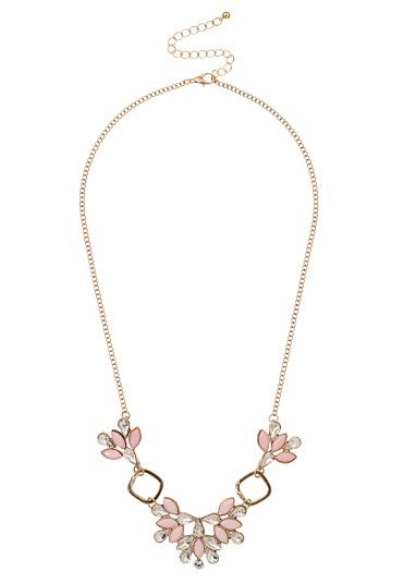 Maurices Tear Drop Jeweled Necklace YcF78Yn