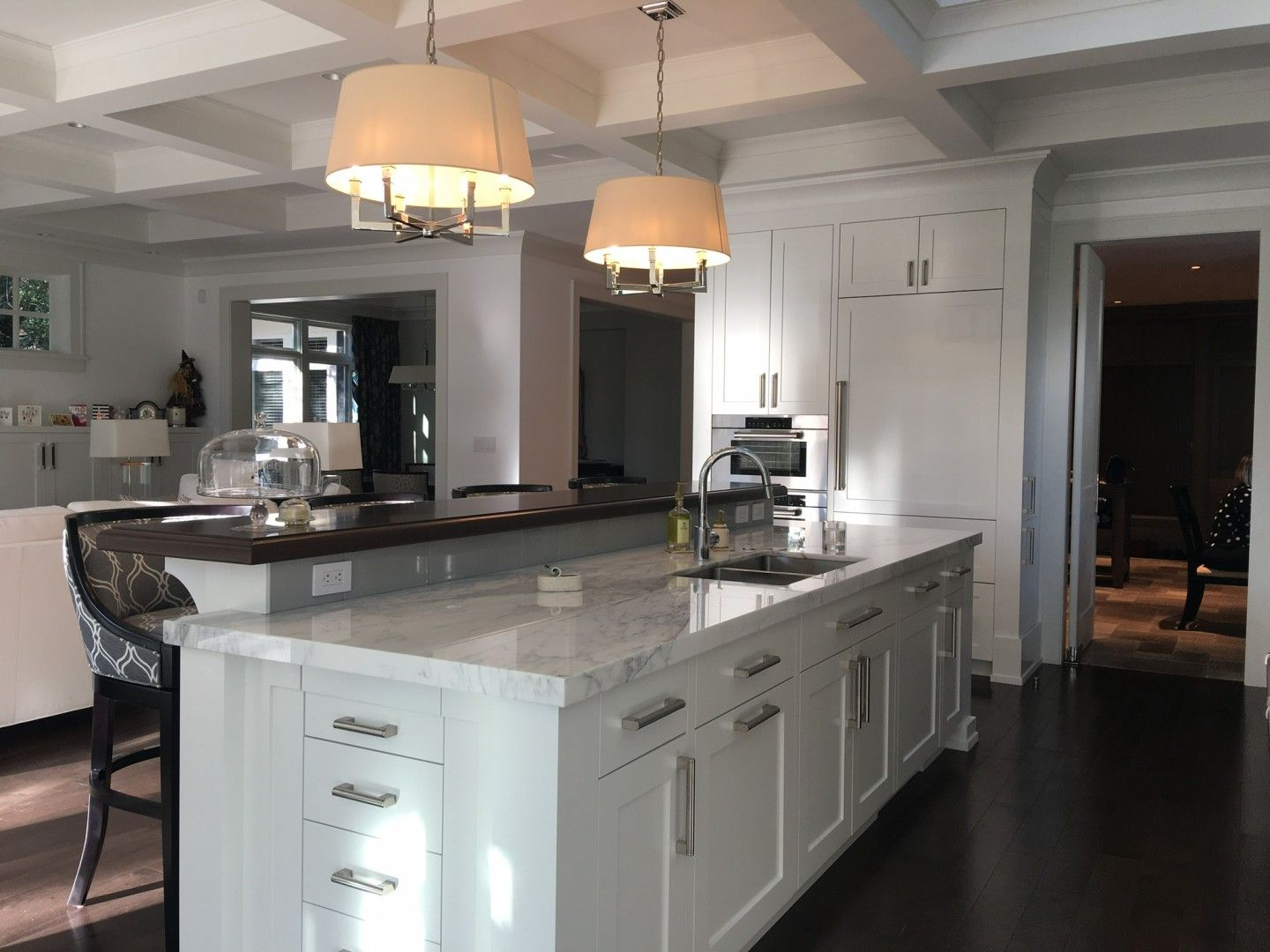 Kitchen Design Island View Traditional Kitchen by Shelley Scales ...