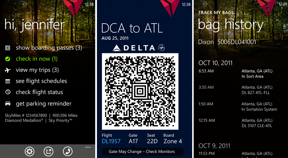 Delta digitally augmented the physical aspects of flight