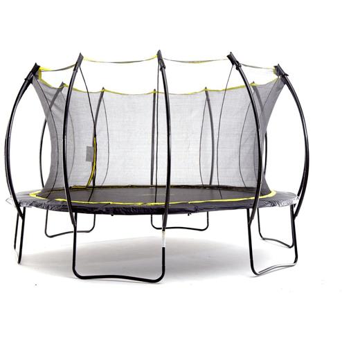12 Stratos Round Trampoline With Enclosure Backyard Trampoline