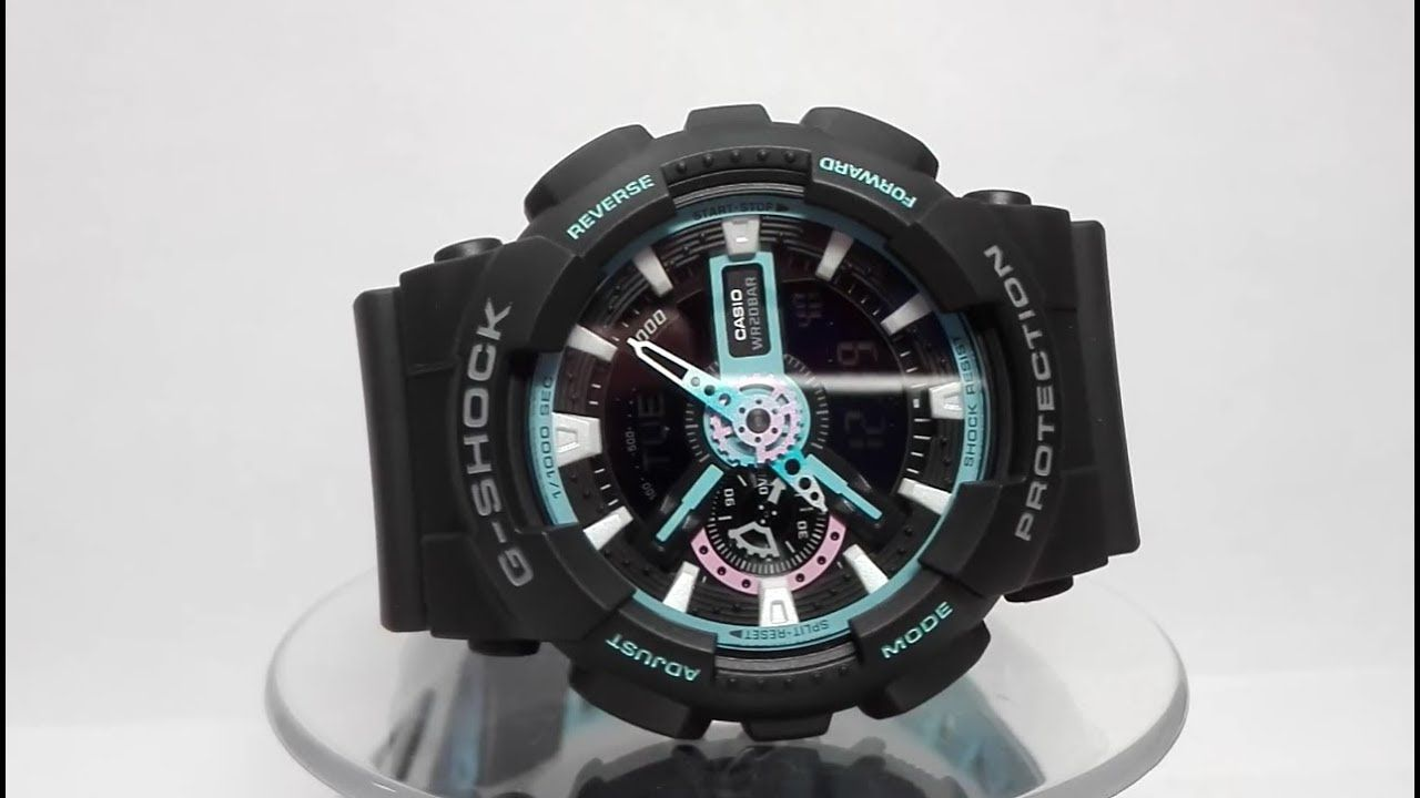 Casio G Shock Ga 110hr 1adr 110pc 1a Watch Video 2018 Videos
