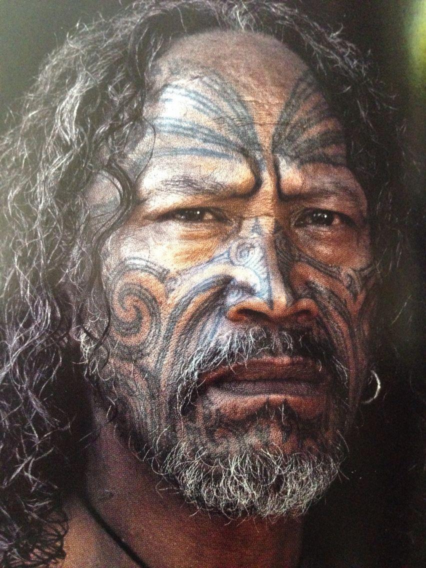 Female Ta Moko On Lips And Chin: Maori Tattoos Female #Maoritattoos