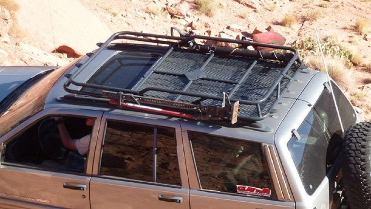 Image result for wj roof rack Roof rack, Jeep wj