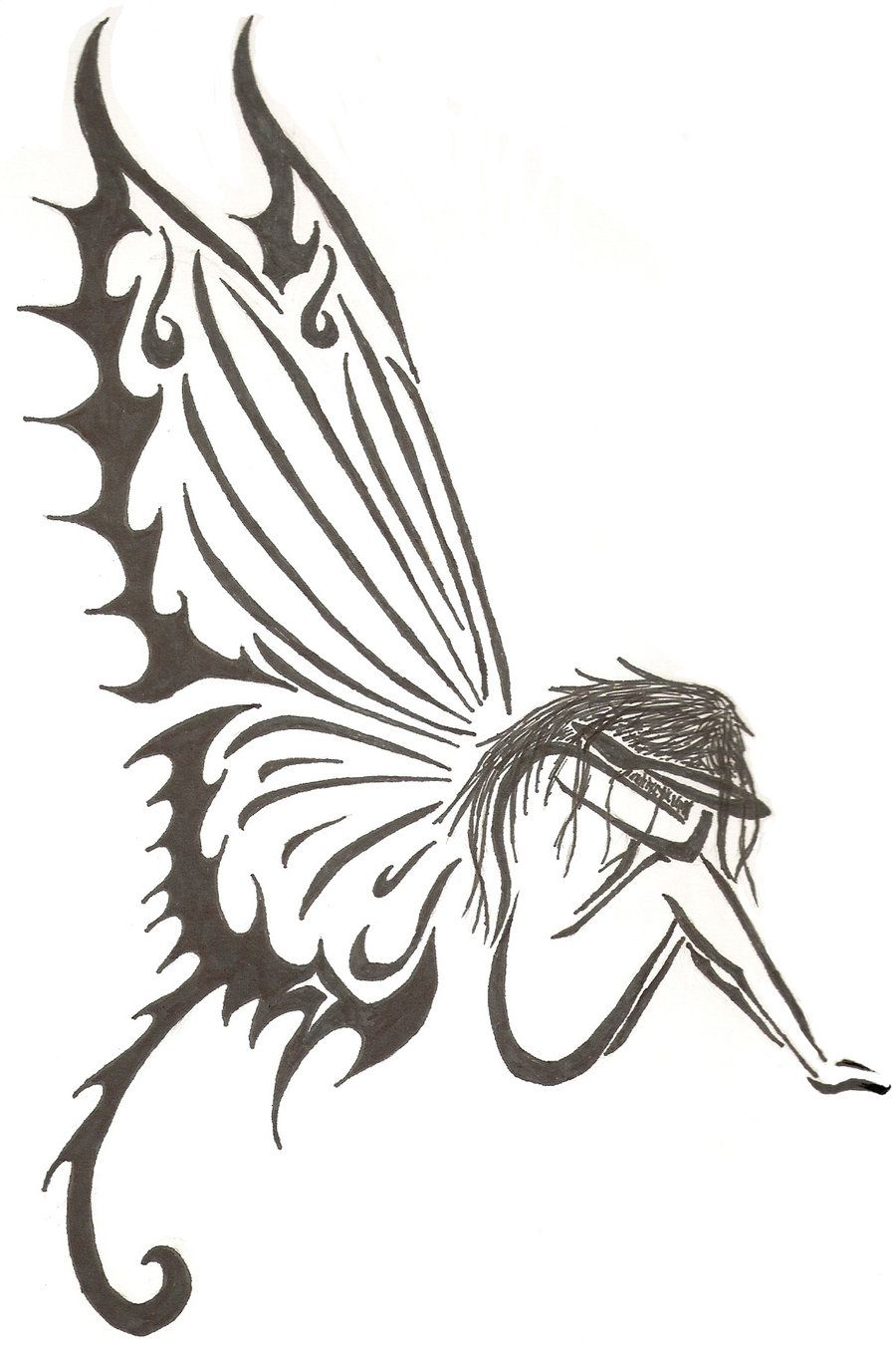 Fairies tattoos designs - Drawings Of Fairies Crying Google Search