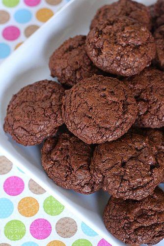 chewy triple chocolate cookies by annieseats, via Flickr