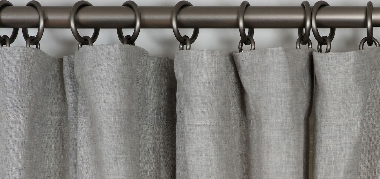 guide to curtain pleats and hanging