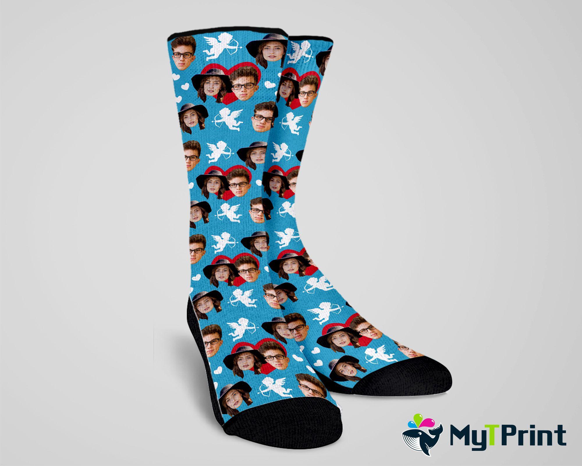 Custom Photo Socks sock Personalized,Photo Socks Picture Socks Custom Socks Socks pineapple Printed Socks