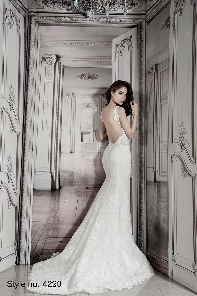 Bridal Gowns: Pnina Tornai Sheath Wedding Dress with Sweetheart ...