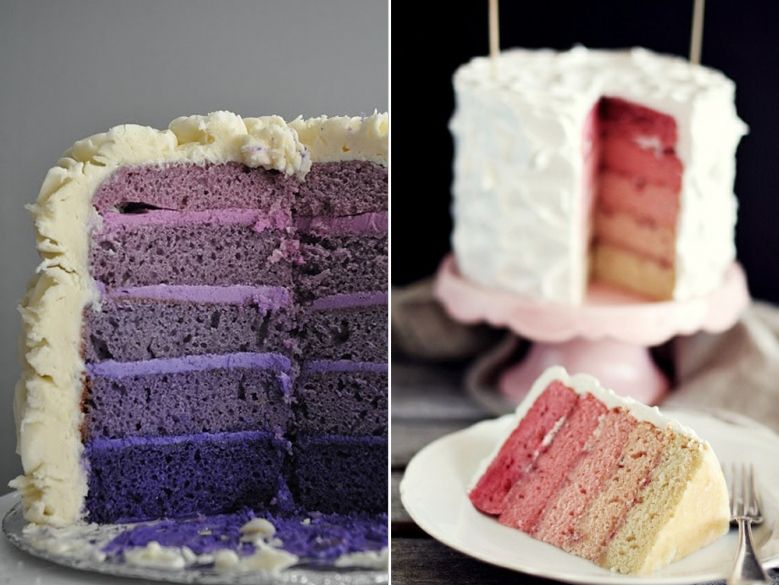 Ombre Cakes, not just for Weddings anymore~