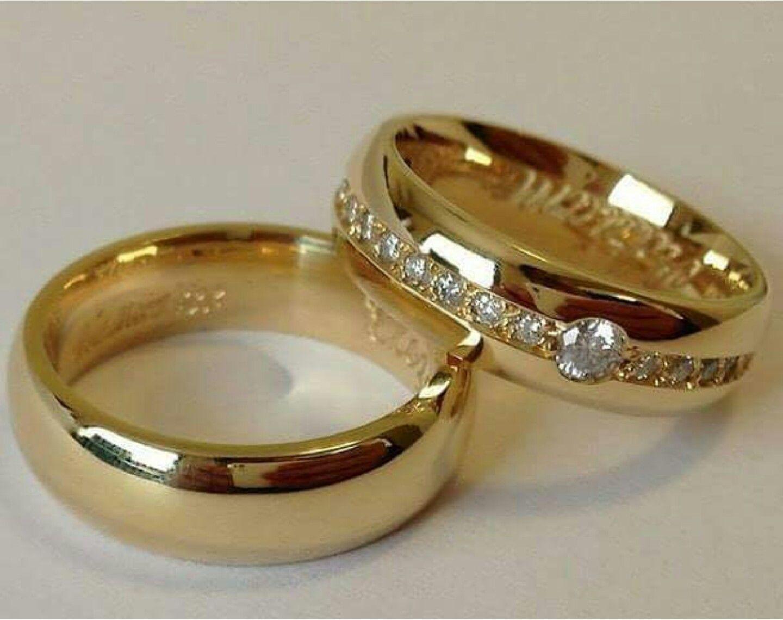 Wedding Couple Rings Gold Designs Addicfashion