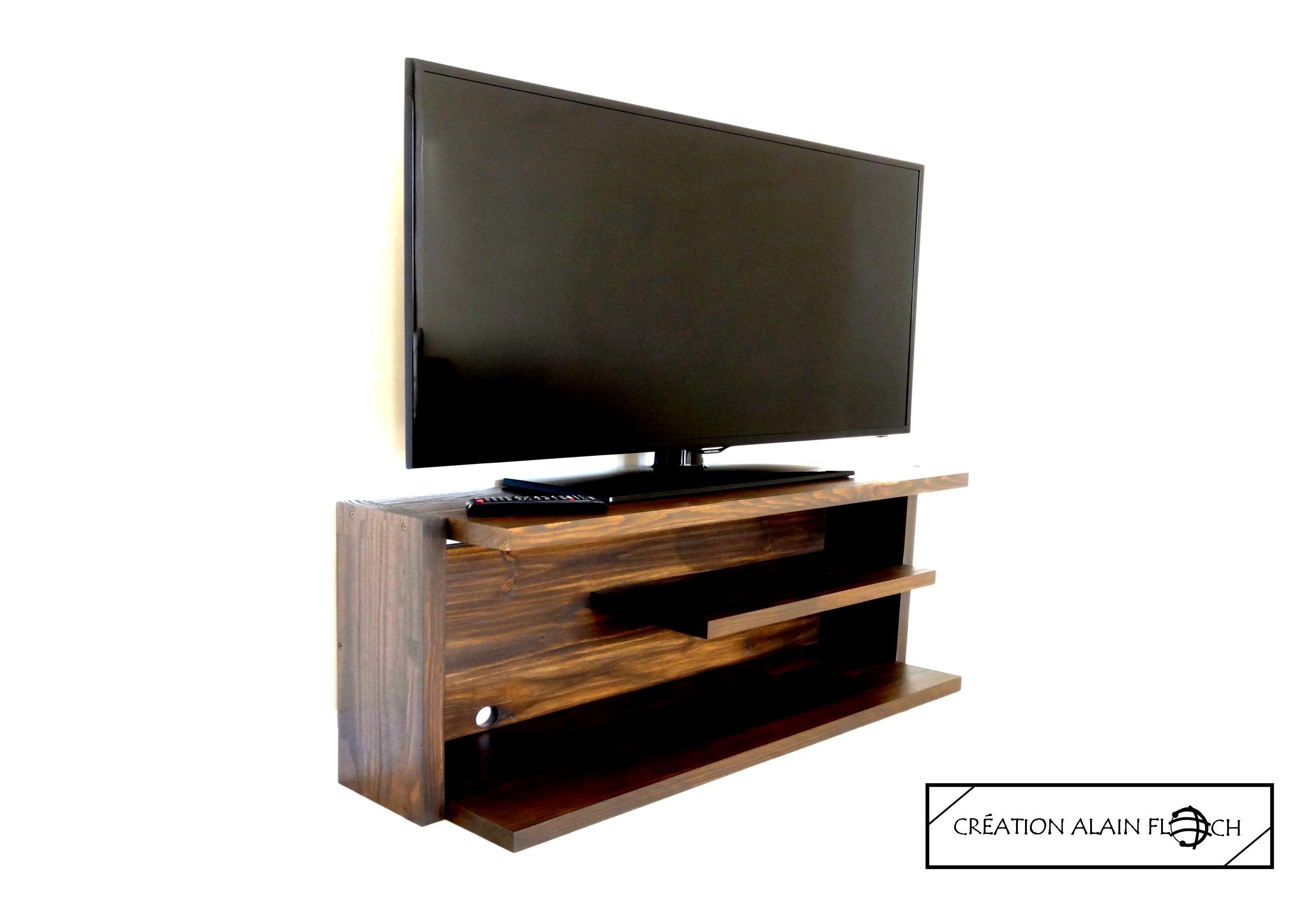 Meuble Tv Ambiance Led Sans Fil Meuble Tv Design Pinterest  # Meuble Tv Led Conforama