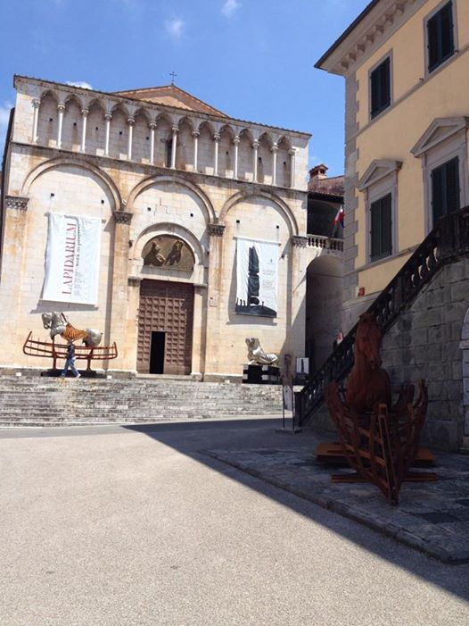veiw of  #Pietrasanta