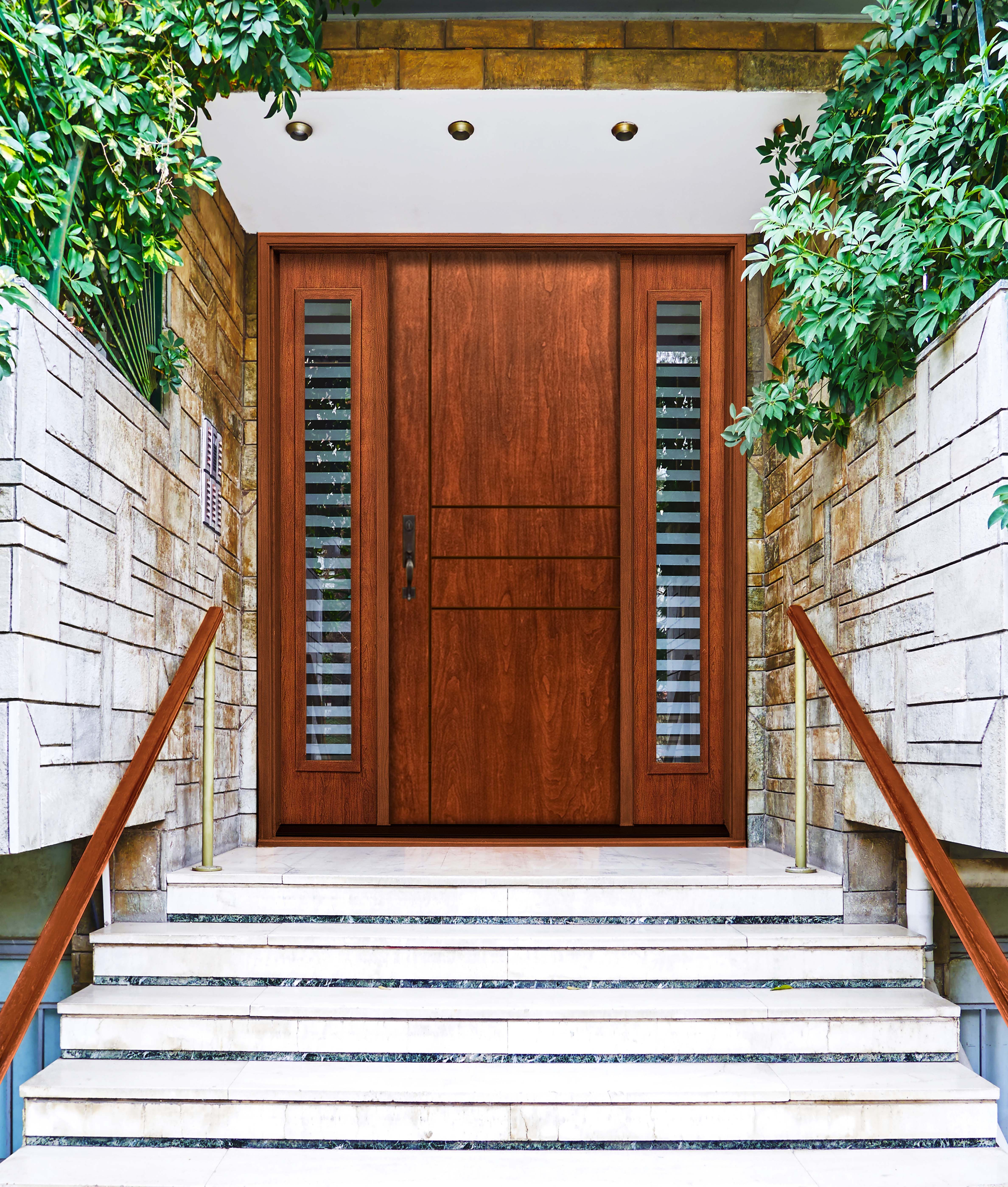 Fiberglass entry door systems wood doors - Mastergrain Premium Fiberglass Entry Doors Combine The Most Authentic Wood Grain Replication With Strength And Efficiency