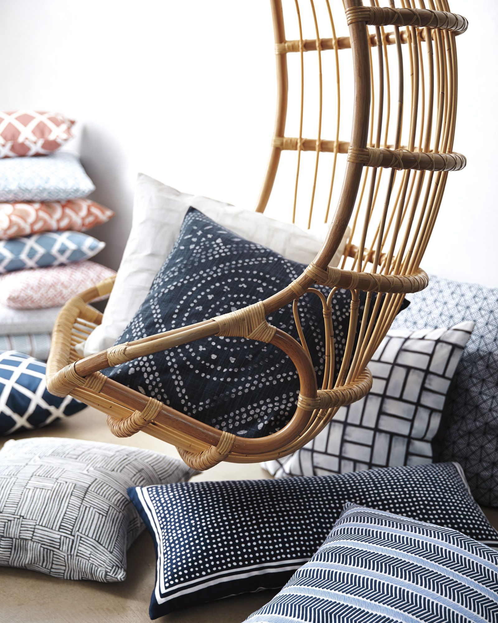 hanging rattan chairhanging rattan chair serena and lily- to style