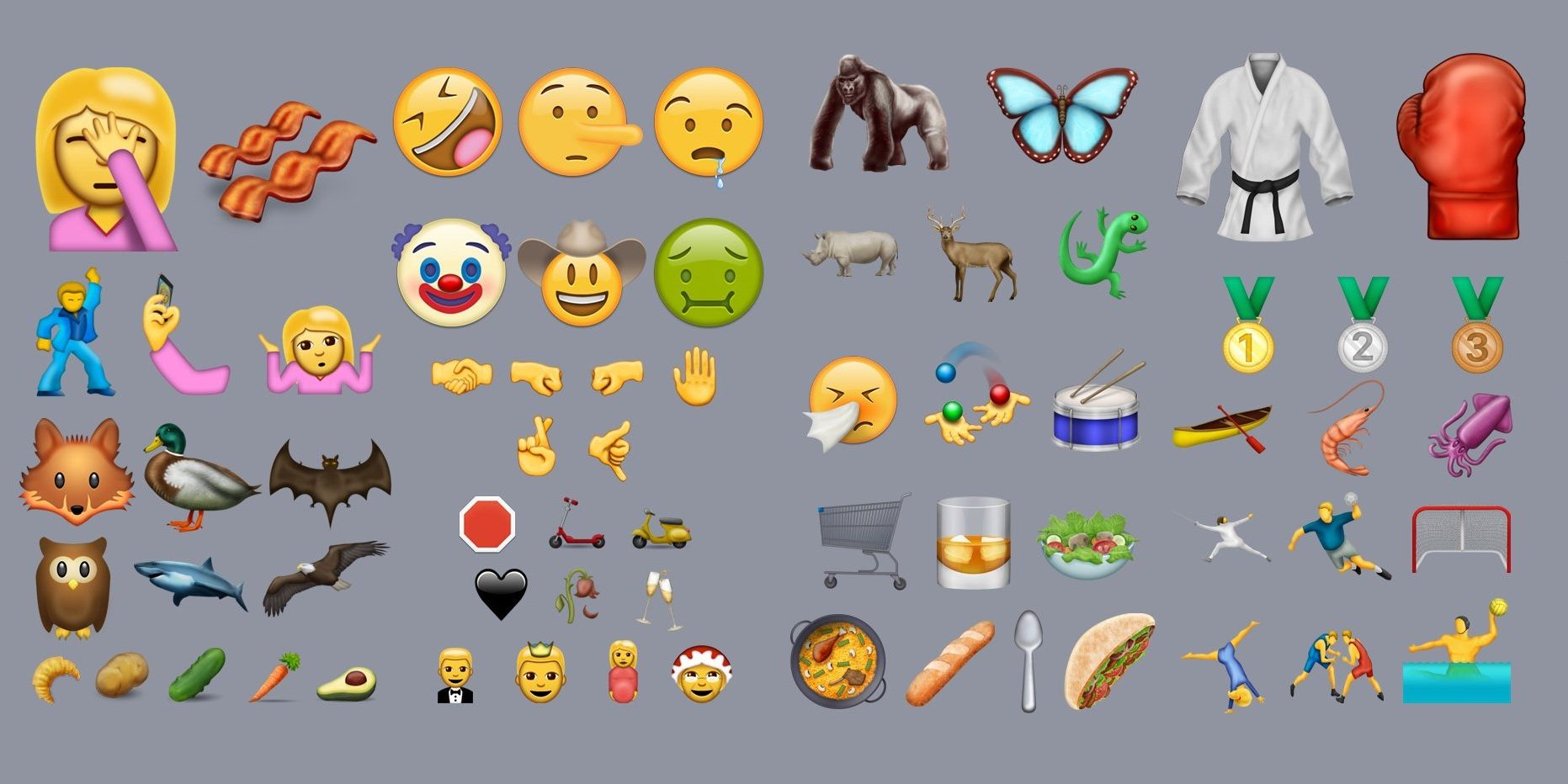 72 new emoji will be making their way to iPhone and iPad