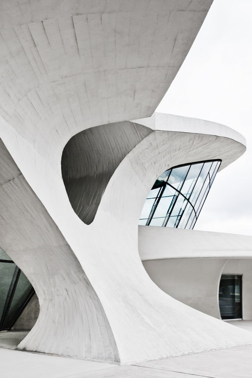 TWA Airport Terminal at JFK by Eero Saarinen // Photography by Connie Zhou