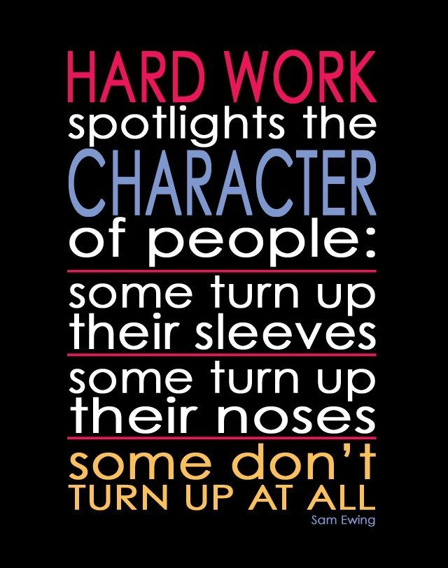 "If ONLY people knew the definition of ""hard work"", it ..."