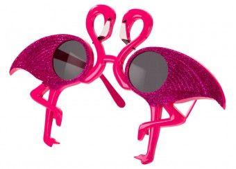 groovy feestbril Fun Sunnies 'flamingo' talking tables   kinderen-shop Kleine Zebra