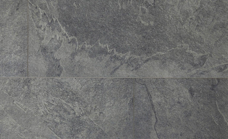 Dalle Ardoise 100 X 30 sol vinyle livyn² clic dalle, ardoise grise, dalle 32 x 130
