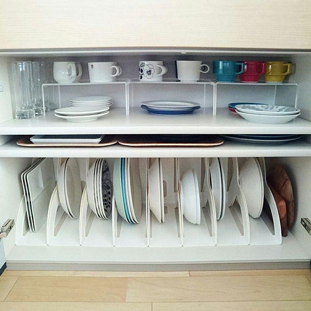 食器収納術総集編 無印や100均を使った整頓のコツ30選 シンク下