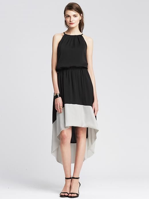 Colorblock Patio Dress Product Image