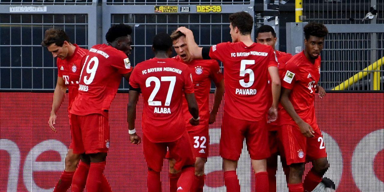 Resume Dortmund Bayern 0 1 Bundesliga Dortmund Bayern Munich Bayern
