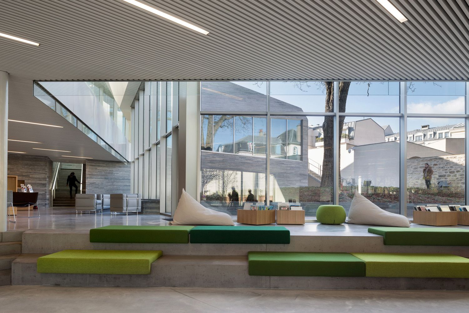 Gallery Of Media Library In Bourg La Reine Pascale Guedot