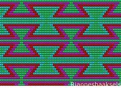 patrones para bolsos wayuu , Buscar con Google