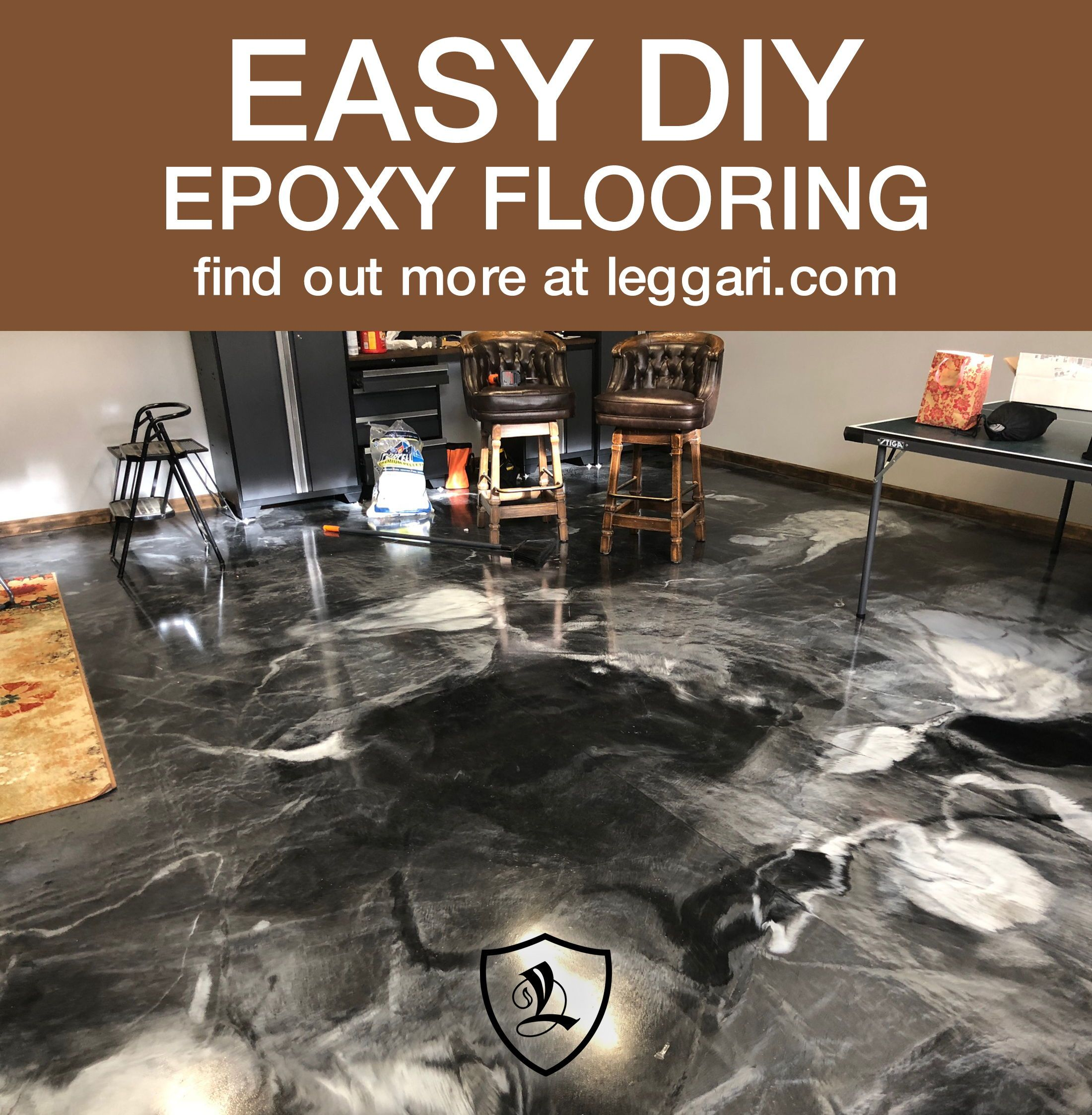 Diy Metallic Epoxy Floor Kits Are Available The Best Epoxy Resin
