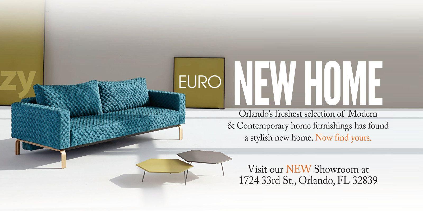 Euro Living Furniture Stores | Contemporary Modern Orlando Florida FL