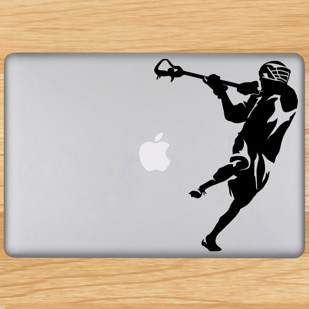 Decorate your laptop with Removable LuLaGraphix lacrosse laptop decals.  These decals are easily applied to any dry and smooth surface (including  glass and ...