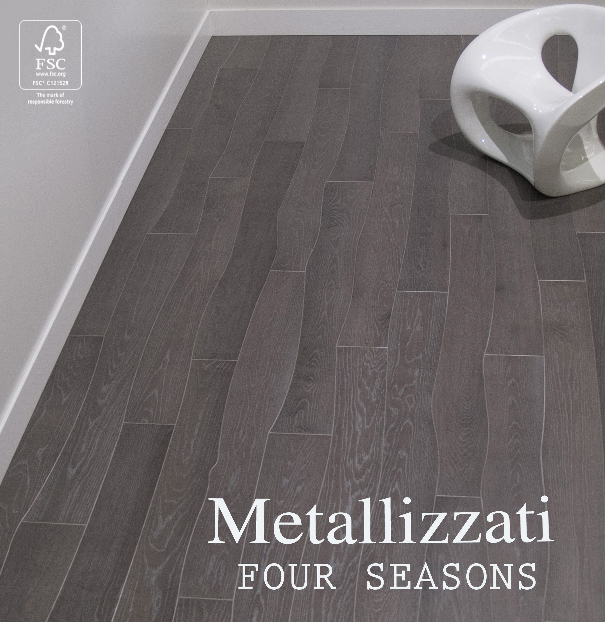 The Looping Pattern Of Oak Four Seasons Flooring Is A Standout Hardwood Choice