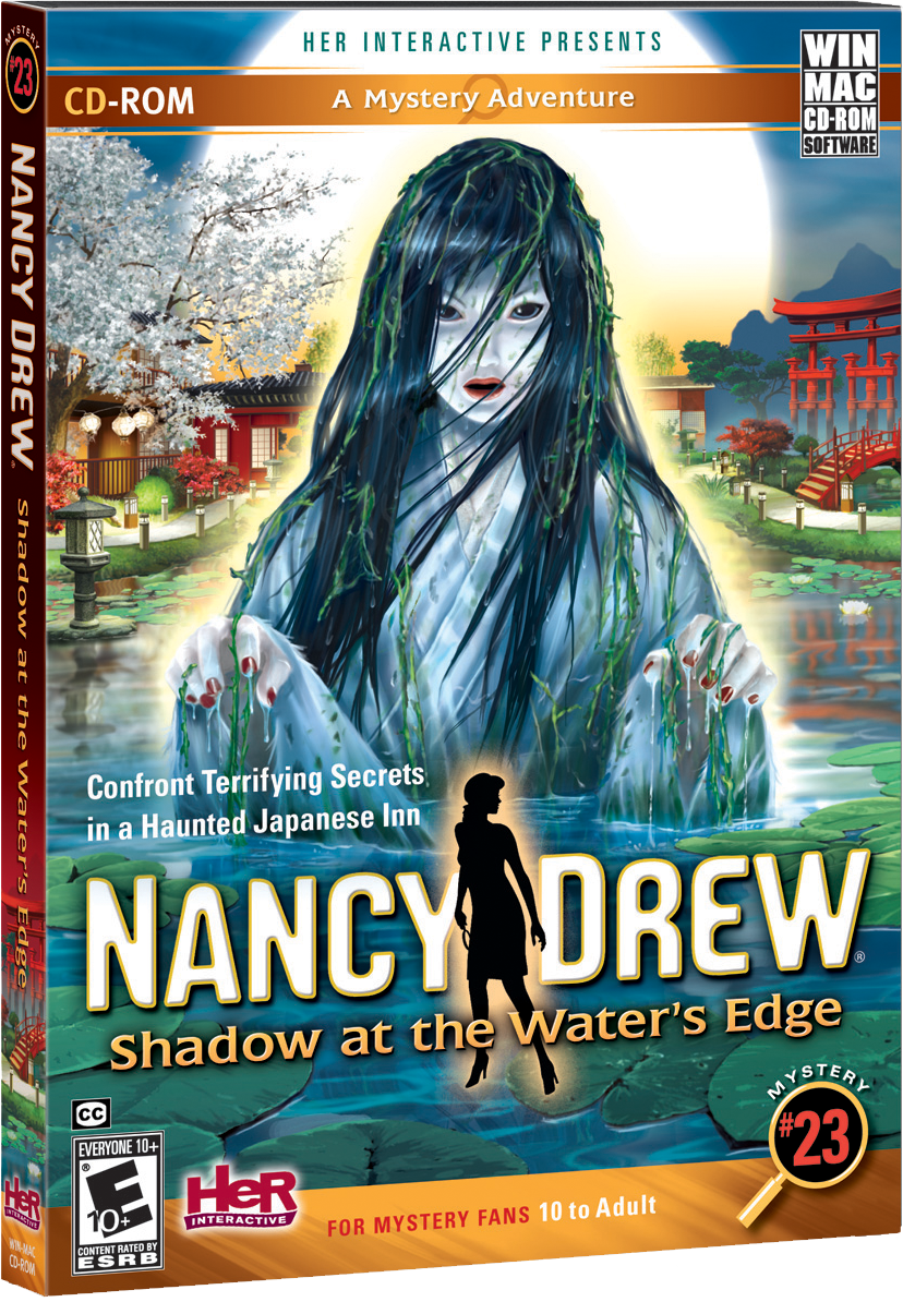 Nancy Drew Shadow at the Water's Edge computer game