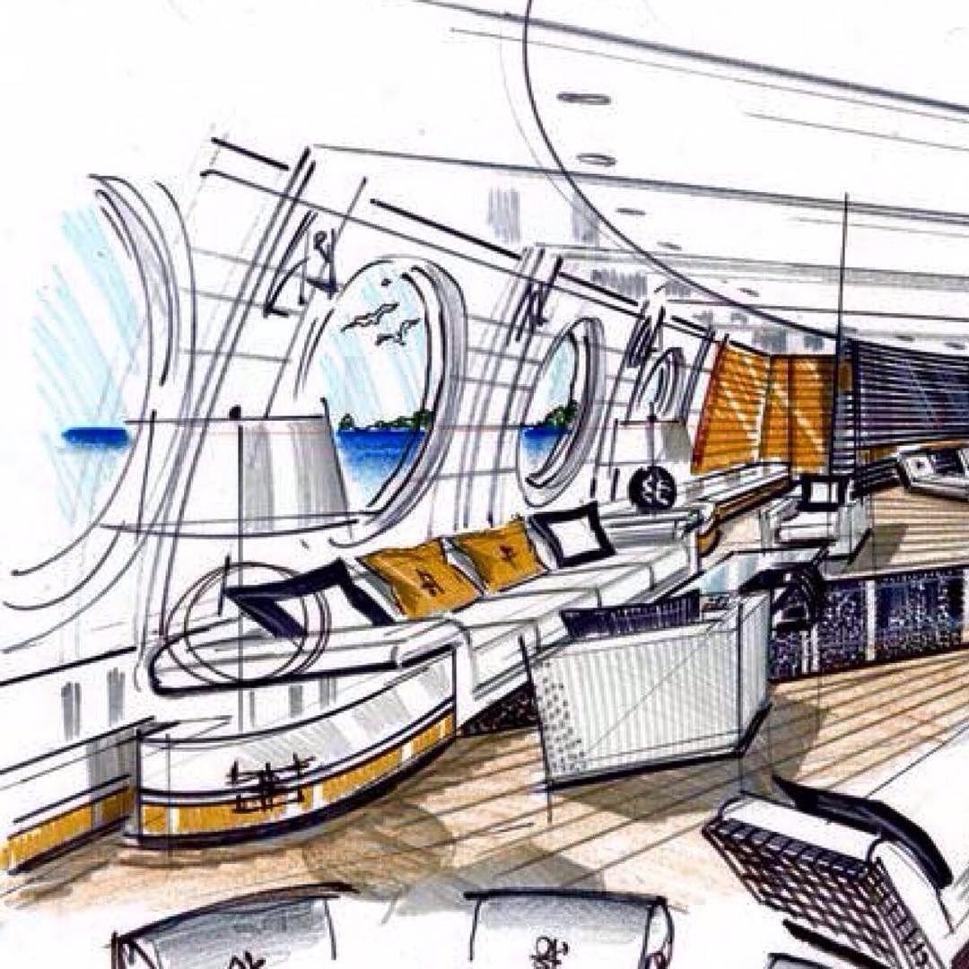 Mega Yacht Concept For Fincantieri