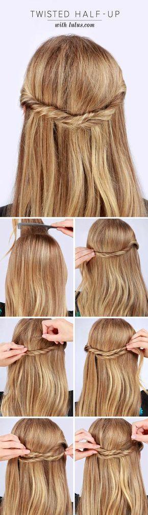 10 peinados para lucir tu cabello lacio sin tener que ondularlo – Mujer de 10: Guía real para la mujer actual. Entérate ya. – Peinados facile