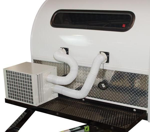 Climateright Air Conditioner Heater Unit Vintage Camper Camping Trailer Camper