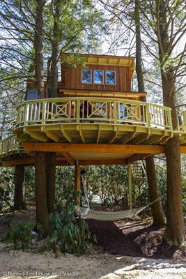 nelson treehouse and supply portfolio of residential treehouses retreat treehouses kids treehouses