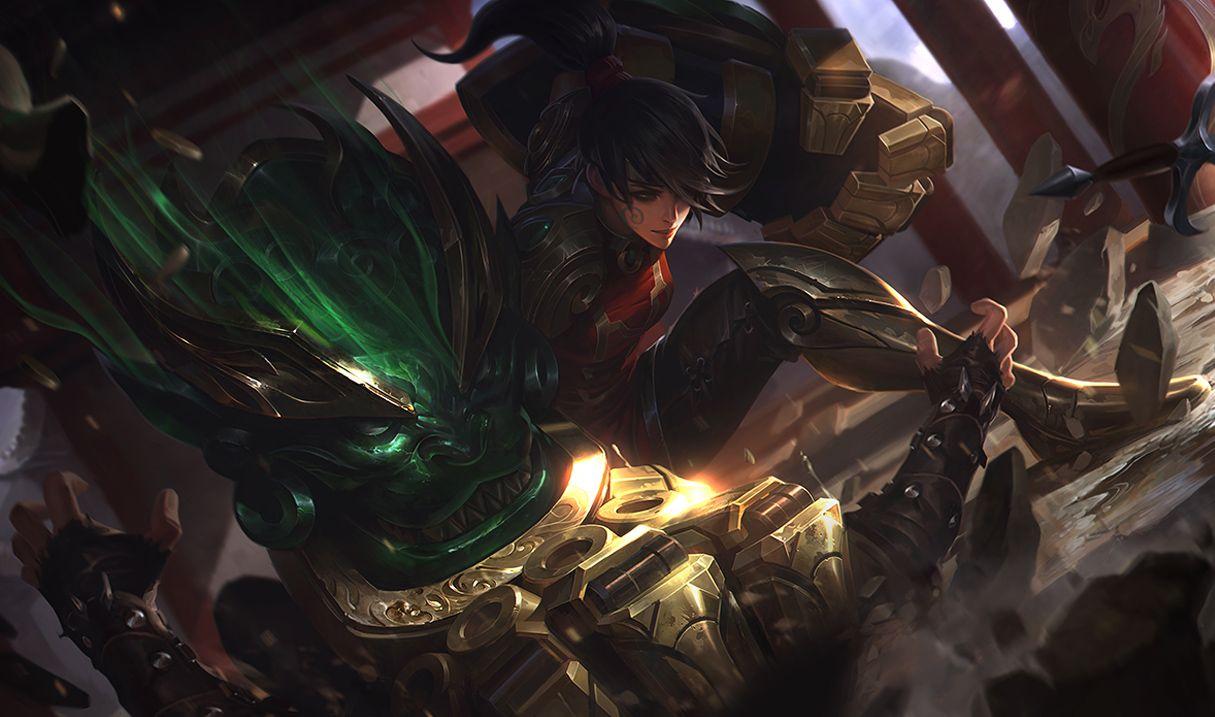 Warring Kingdoms Vi In 2020 Vi League Of Legends League Of
