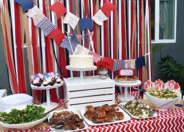 Memorial Day Meets Birthday Birthday Party Ideas Memorial Day